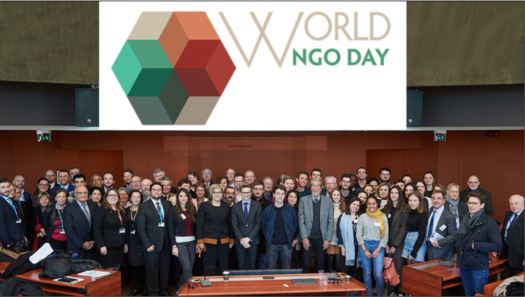 Image of World NGO day celebration by The Council of Europe